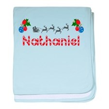 Nathaniel, Christmas baby blanket