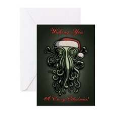 cthulhu-claus-T.png Greeting Cards (Pk of 20)