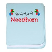 Needham, Christmas baby blanket