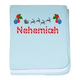 Nehemiah, Christmas baby blanket