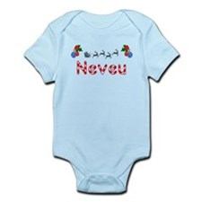 Neveu, Christmas Infant Bodysuit