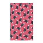 Cat Wings Pink 3'x5' Area Rug