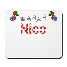 Nico, Christmas Mousepad
