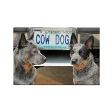 Missouri Cow Dog Magnet