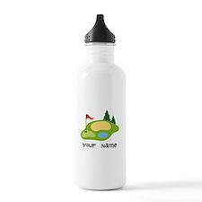 Personalized Golfing Water Bottle