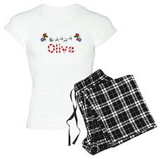 Olive, Christmas pajamas