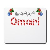 Omari, Christmas Mousepad