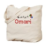 Omari, Christmas Tote Bag