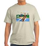 Fishing With Moses Ash Grey T-Shirt