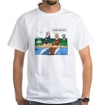 Fishing With Moses White T-Shirt