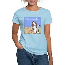 Adopt a Mutt! Women's Pink T-Shirt