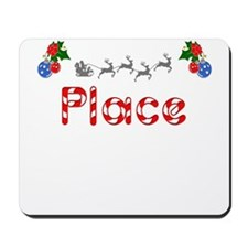 Place, Christmas Mousepad