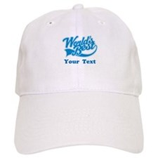 Worlds Best Personalized Baseball Cap