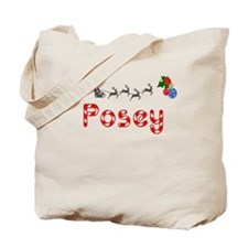 Posey, Christmas Tote Bag