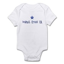 Walnut Creek CA Vintage Blues Infant Bodysuit