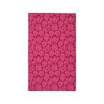 Flourish Leaves Pink/Magenta 3'x5' Area Rug