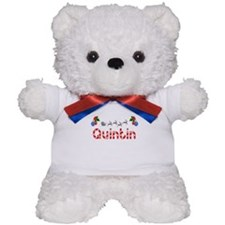 Quintin, Christmas Teddy Bear