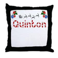 Quinton, Christmas Throw Pillow