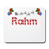 Rahm, Christmas Mousepad