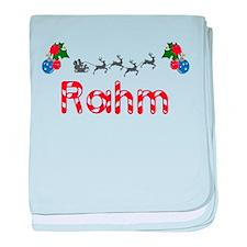 Rahm, Christmas baby blanket