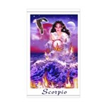Scorpio Rectangle Sticker