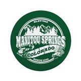 "Manitou Springs Old Circle 3.5"" Button"