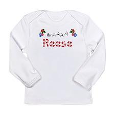 Reese, Christmas Long Sleeve Infant T-Shirt
