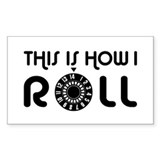 This Is How I Roll Guitar Amplifier Decal