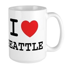 I LOVE SEATTLE Mug