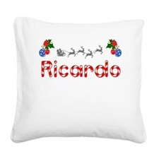 Ricardo, Christmas Square Canvas Pillow