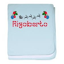 Rigoberto, Christmas baby blanket
