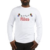Riles, Christmas Long Sleeve T-Shirt