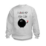 I Love My Fat Cat Sweatshirt