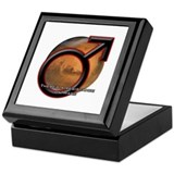 Resistance on Mars Keepsake Box