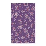 Flower Liberty Purple 3'x5' Area Rug