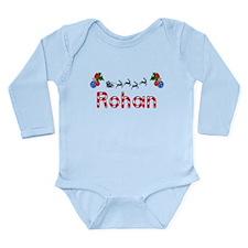 Rohan, Christmas Long Sleeve Infant Bodysuit