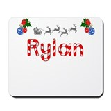 Rylan, Christmas Mousepad