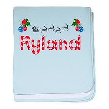 Ryland, Christmas baby blanket