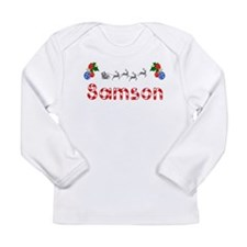 Samson, Christmas Long Sleeve Infant T-Shirt