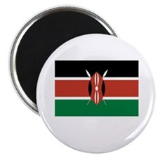 Kenya Flag Picture Magnet