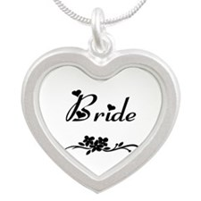 Classic Bride Silver Heart Necklace