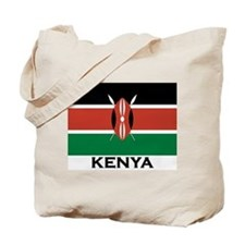 Kenya Flag Merchandise Tote Bag