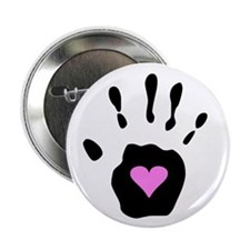 "Heart in Hand 2.25"" Button (10 pack)"