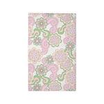 Flower Retro Green/Lilac 3'x5' Area Rug