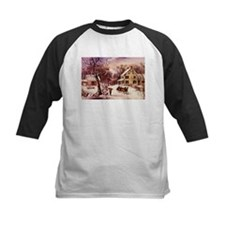 Curry Ives American Homestead Winter Tee