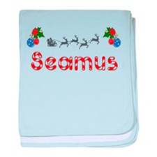 Seamus, Christmas baby blanket