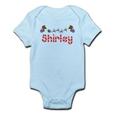 Shirley, Christmas Infant Bodysuit