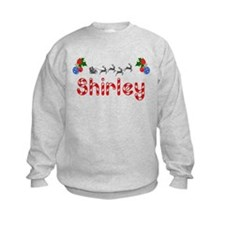 Shirley, Christmas Sweatshirt