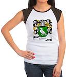 Ganser Coat of Arms Women's Cap Sleeve T-Shirt