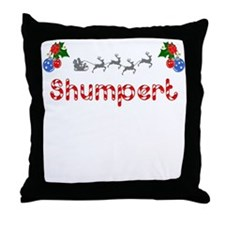 Shumpert, Christmas Throw Pillow